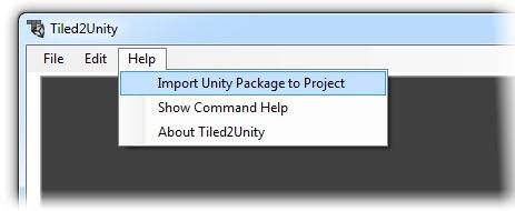 Get Tiled2Unity